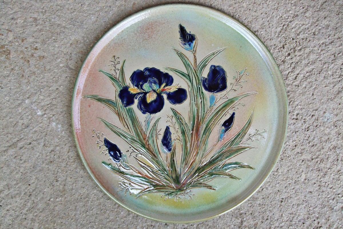 Assiette iris