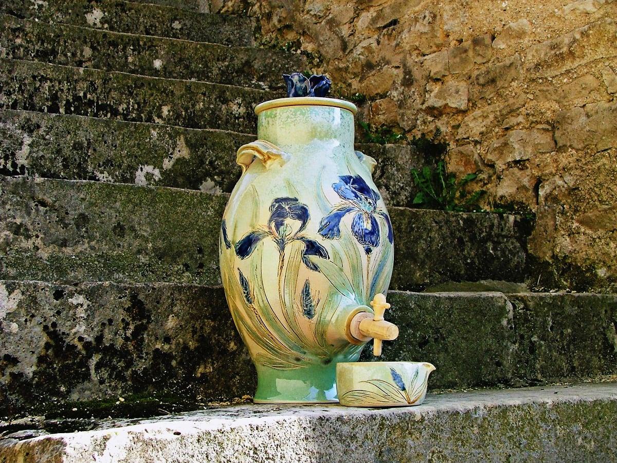 fontaine à eau iris