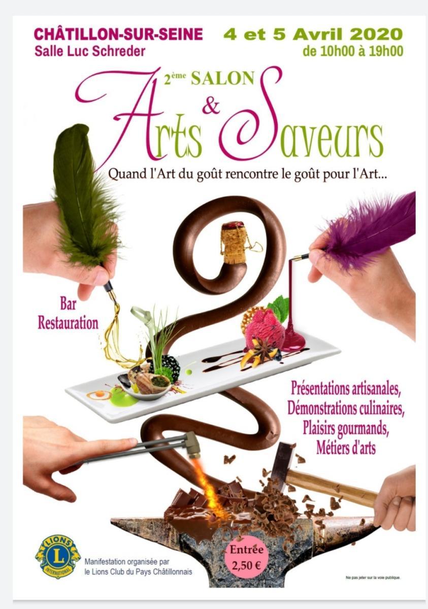 Exposition arts et saveurs 2020 à Châtillon sur Seine